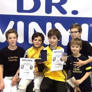 Paul, Josua, Florian, Joel, Julian